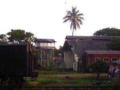 En gare de Gal Oya