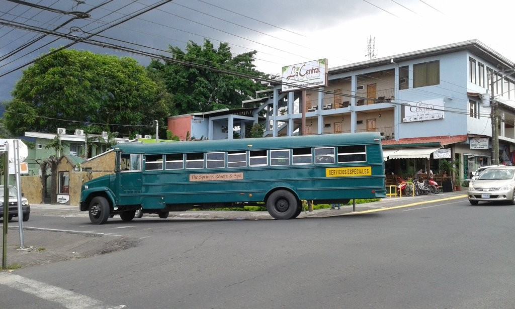 Un bus local au Costa Rica.