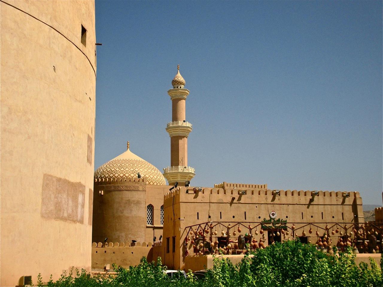 Le fort de Nizwa à Oman