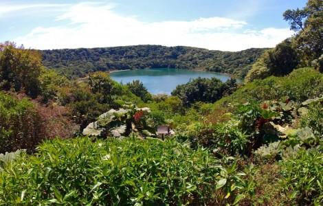 Le lac du volcan Poas