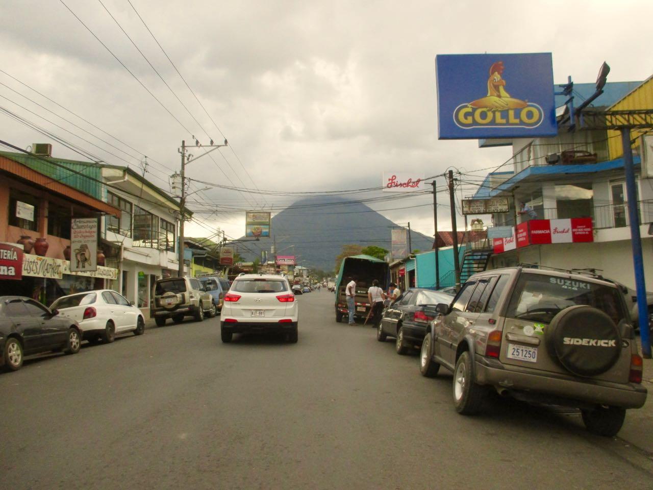 Road trip au Costa Rica : la ville de la Fortuna