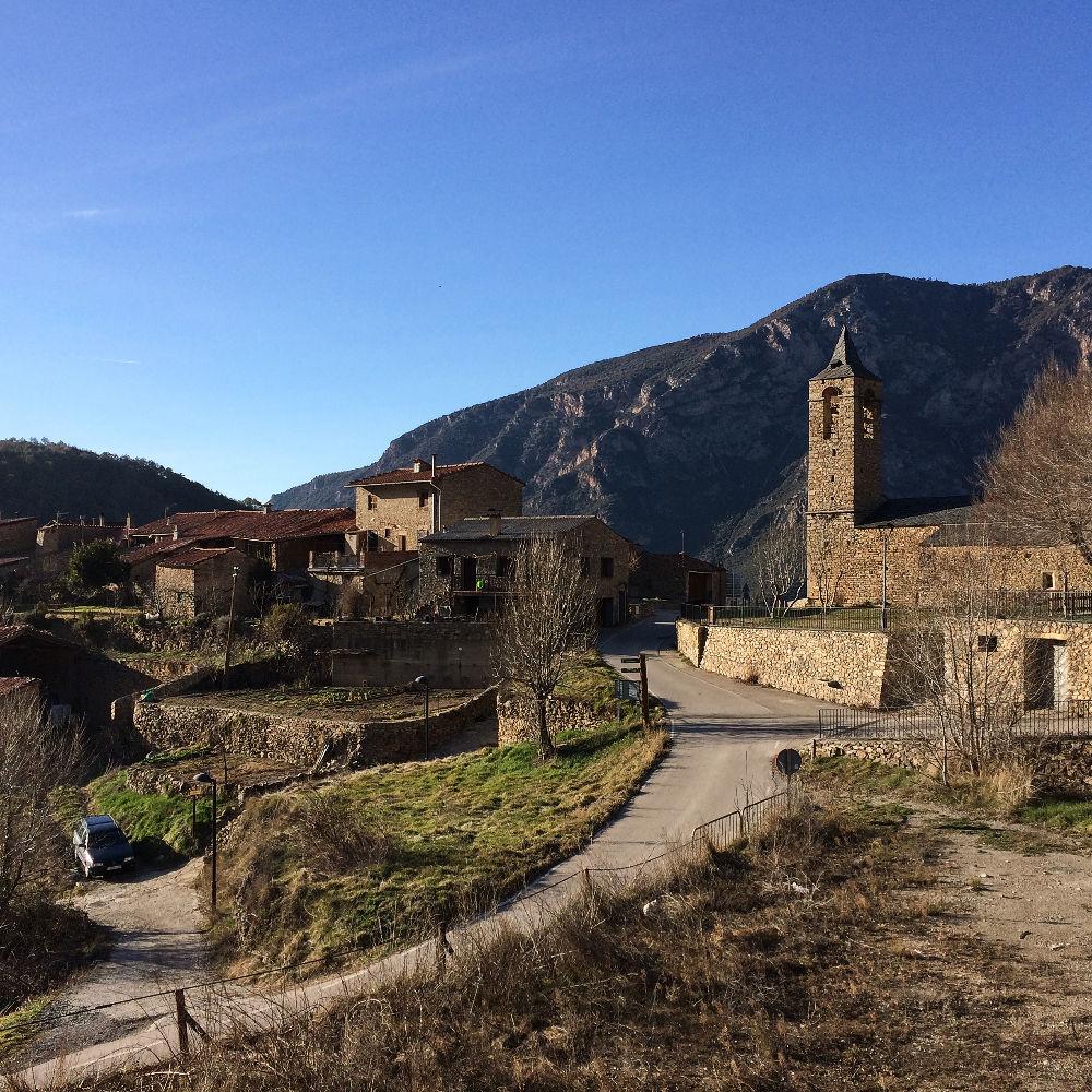 Au coeur du village d'Arsèguel
