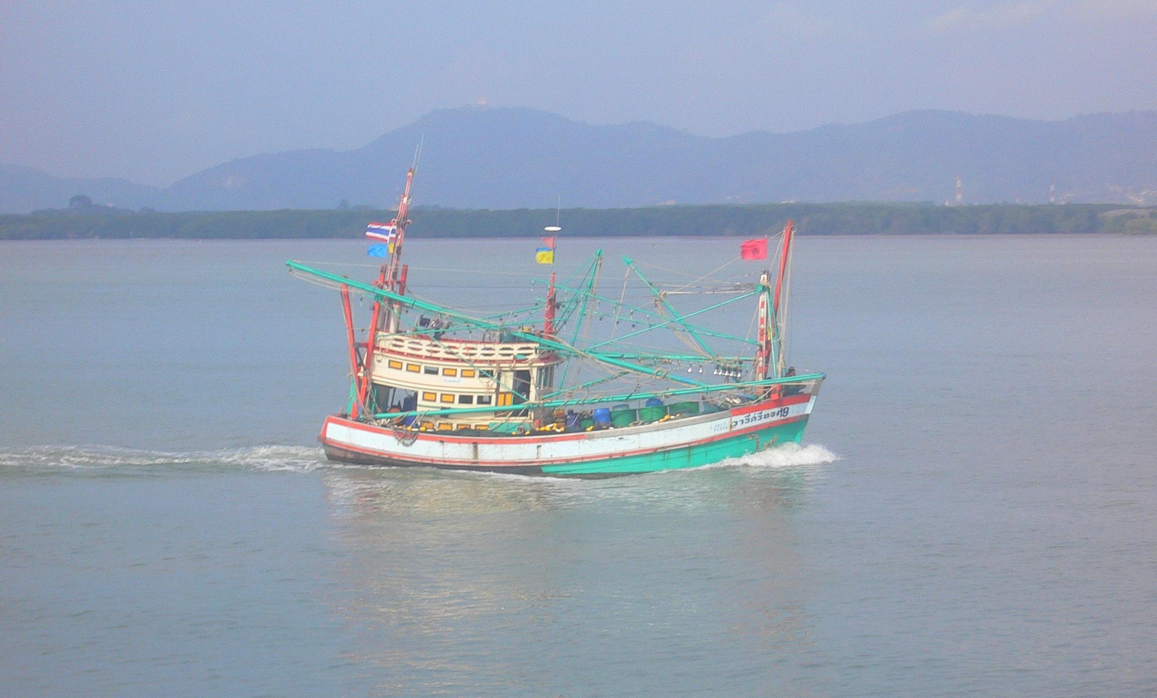 Dans la baie de Phuket