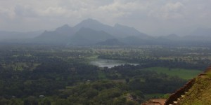La plaine de Sigiriya