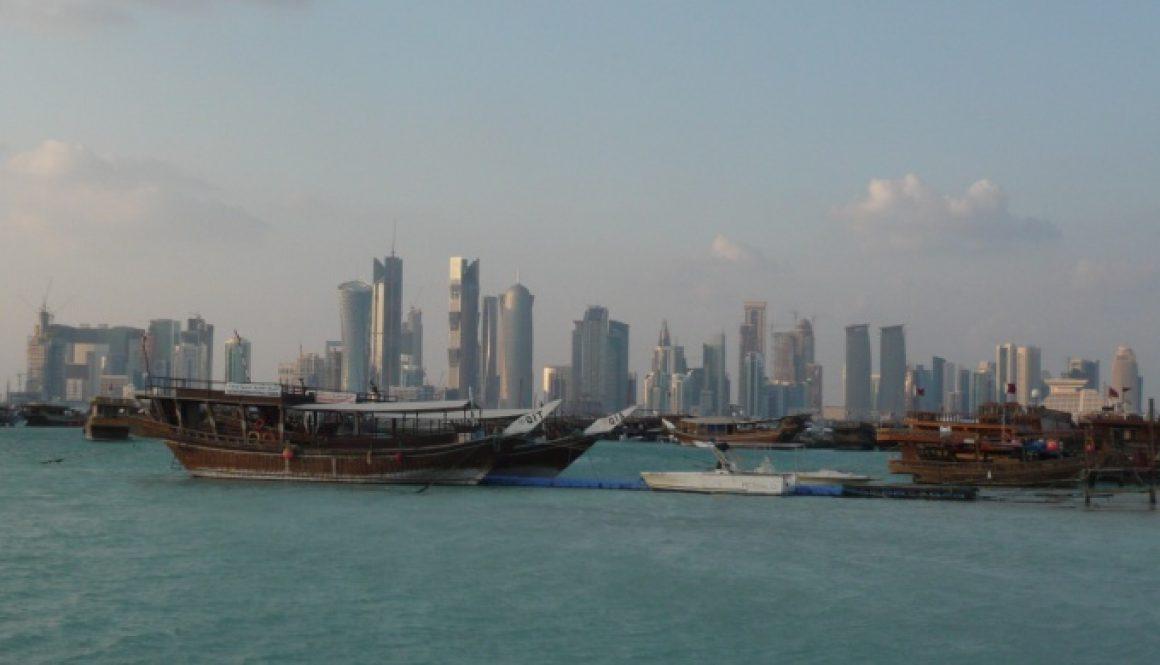 La lagune de Doha