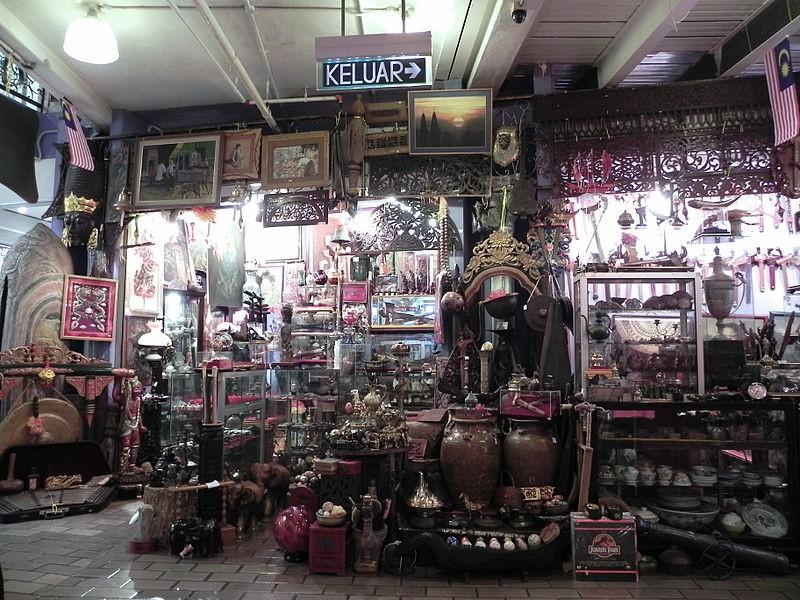 Le marché central de Kuala Lumpur