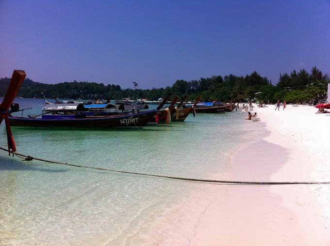 Bateaux Longue Queue à Koh Lipe