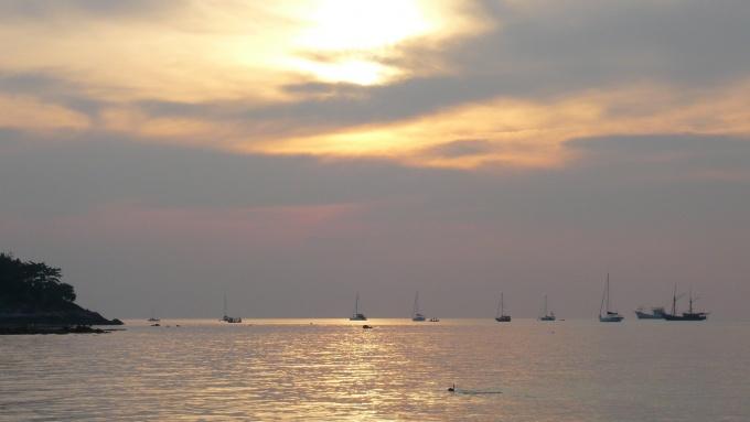 Coucher de soleil sur Koh Lipe