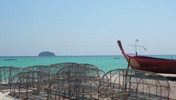Bateaux de pêcheurs à Koh Lipe