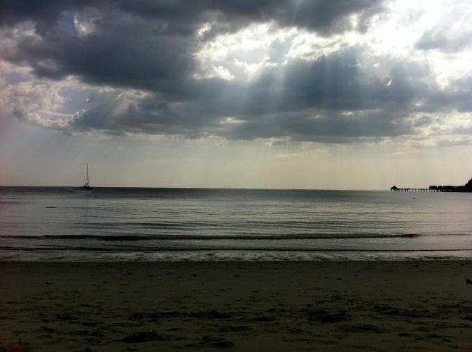 Coucher de soleil à Langkawi