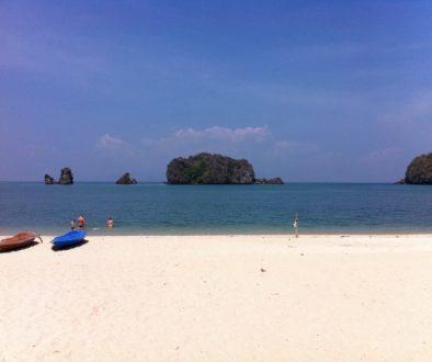Plage de Tanjung Rhu