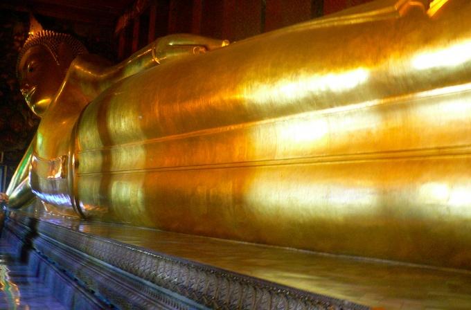 Le Bouddha Couché au Wat Pho