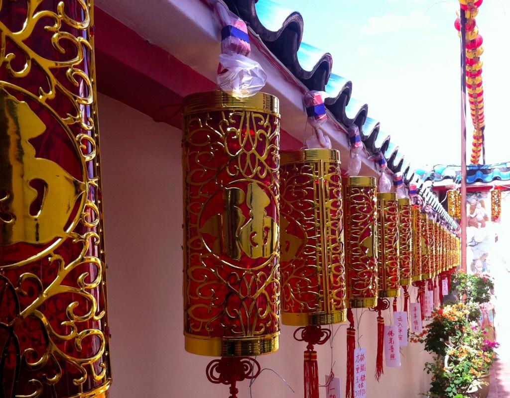 Au temple Kek Lok Si