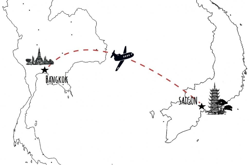 De Bangkok à Saïgon