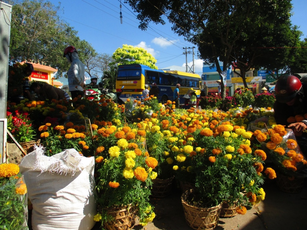 Au marché de Ba Vat