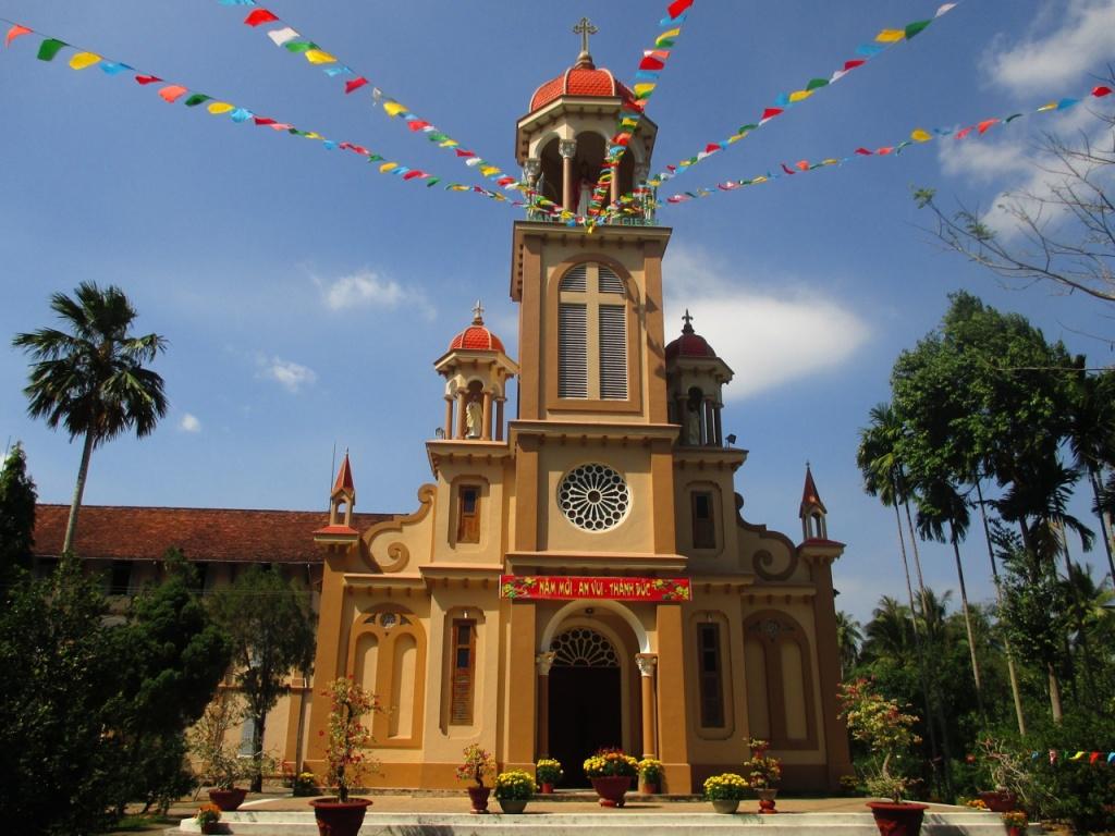 L'église de Vinh Thanh