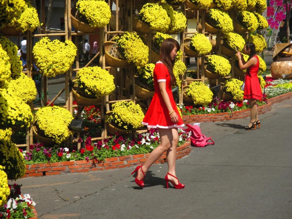Exposition florale du tet