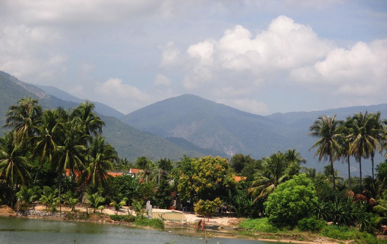 Sur la route de Dai Lanh