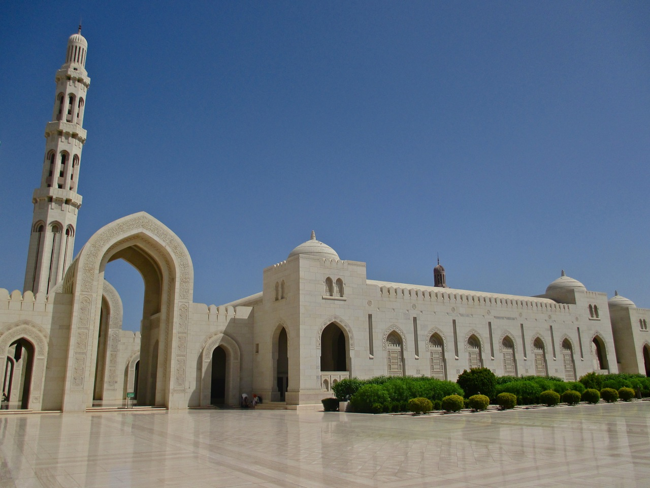 mosquee sultan qabous