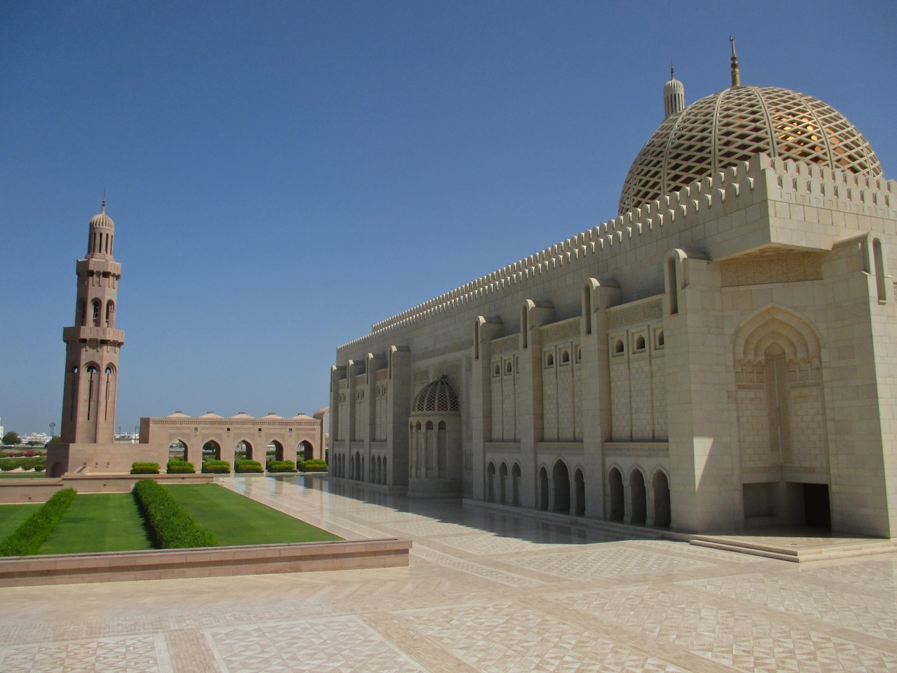 mosquee qabous