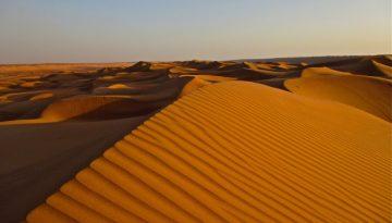 dunes desert wahiba