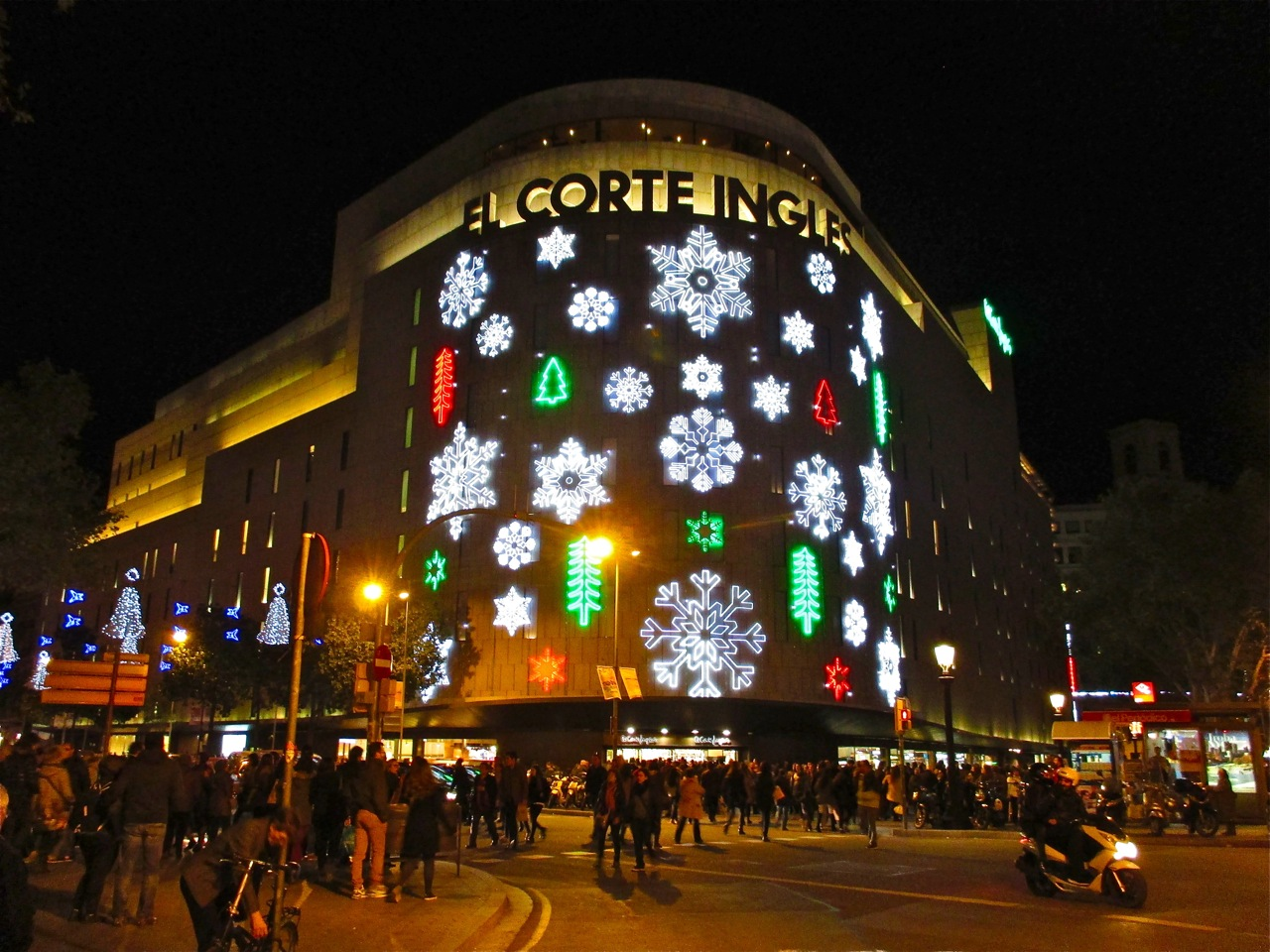 corte ingles illumine