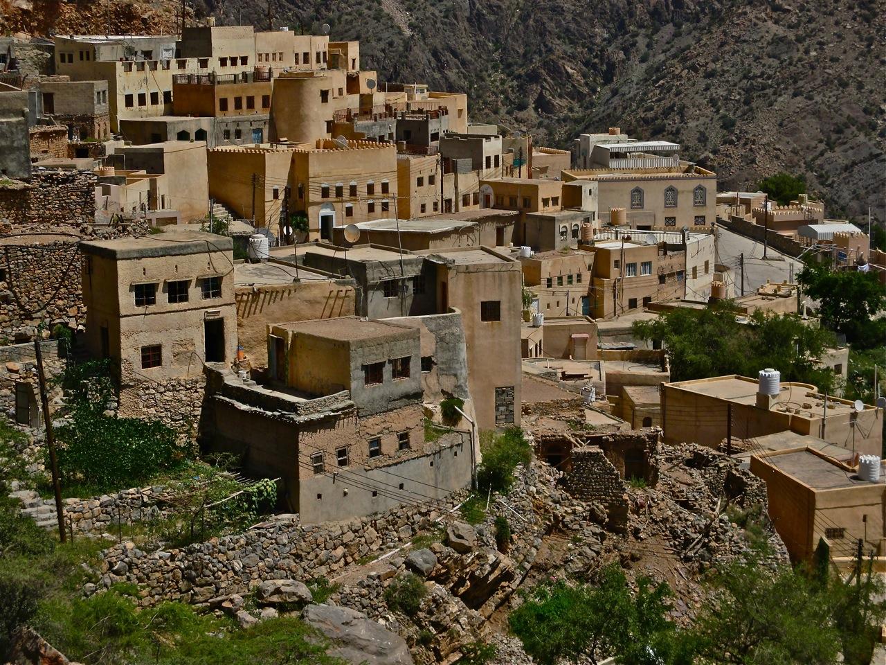 Le village de Ash Shirayjah à Oman