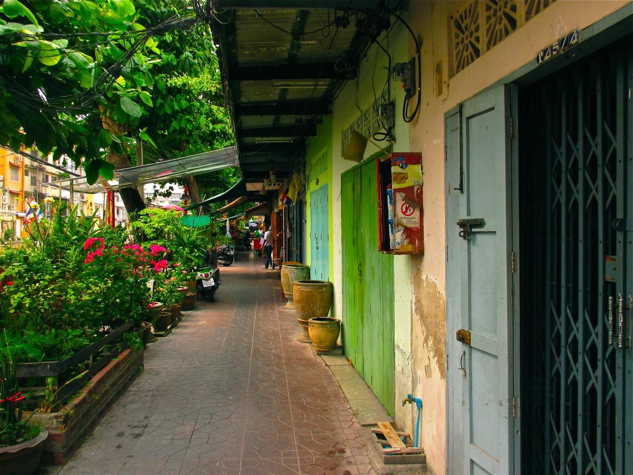 itineraire a banglamphu