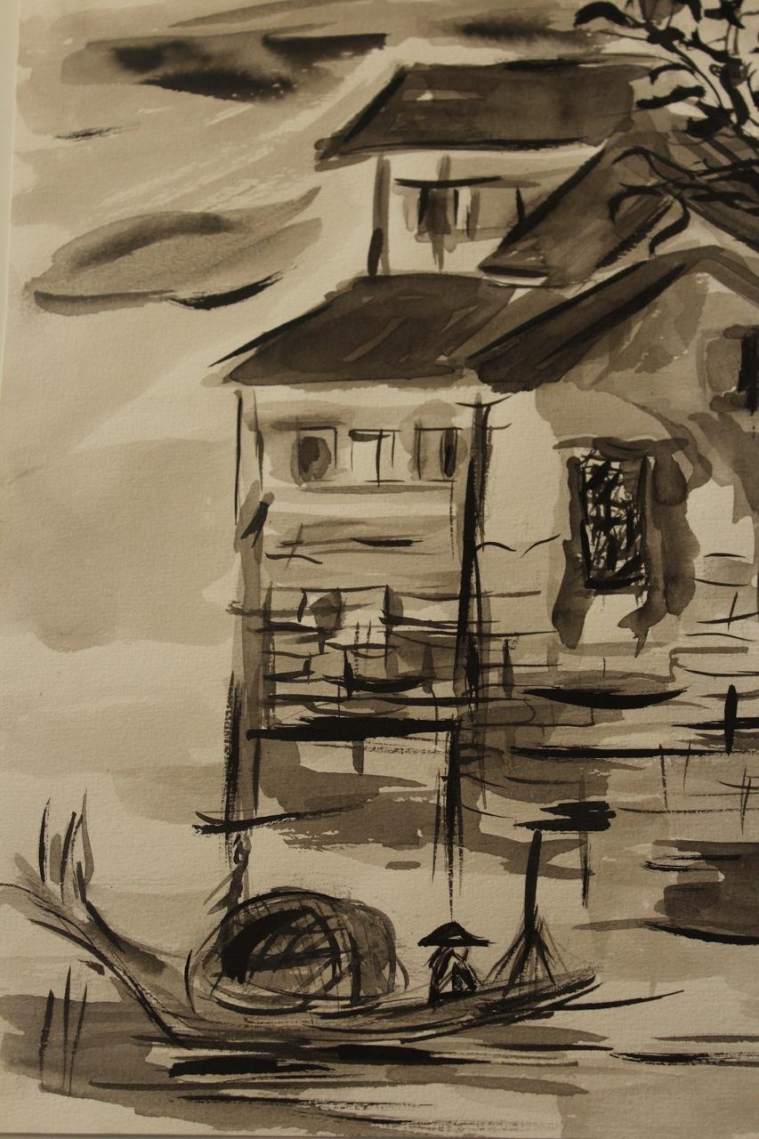 peinture chinoise joe le moskito