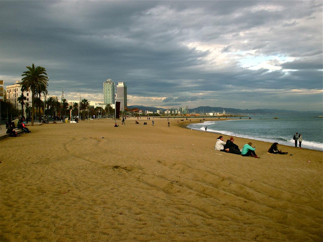 plage barceloneta