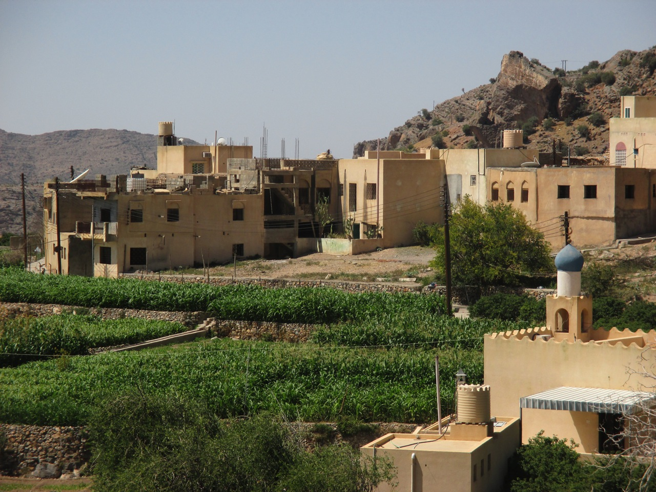 village ayn akhdar