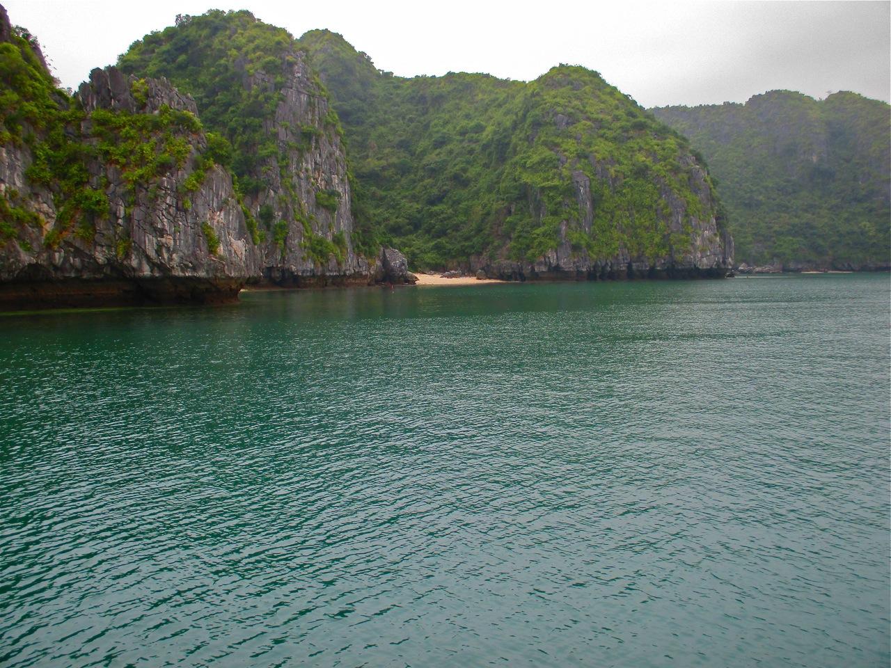 En croisière sur la baie d'halong