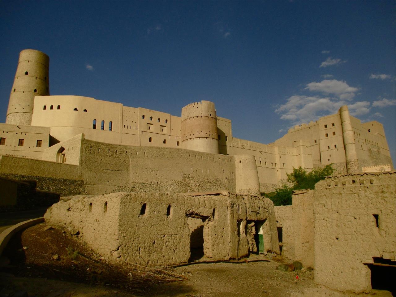 Le fort de Bahla au sultanat d'Oman.