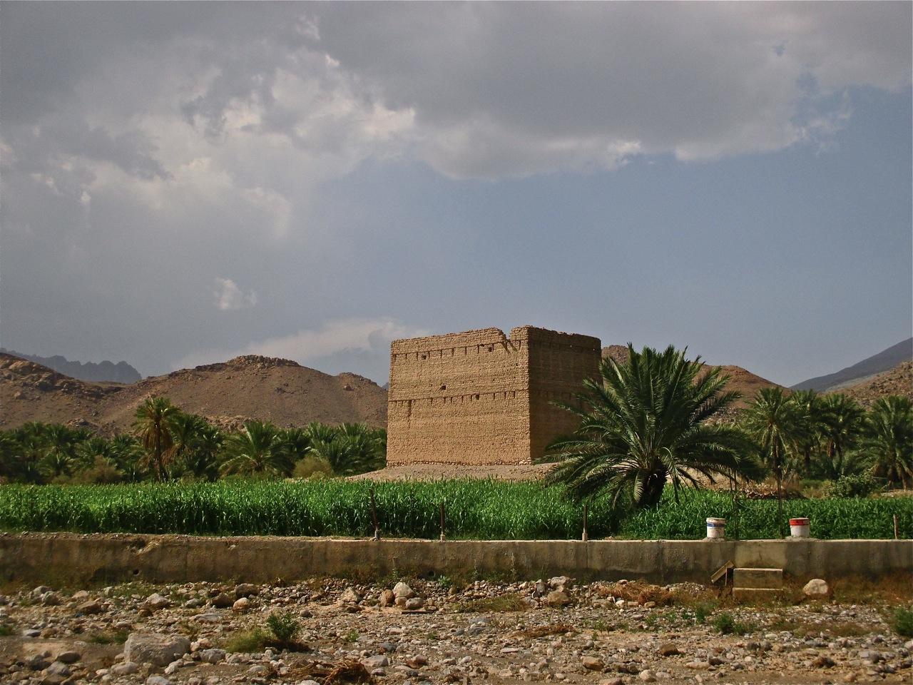 Paysages sur la route du wadi Damm.