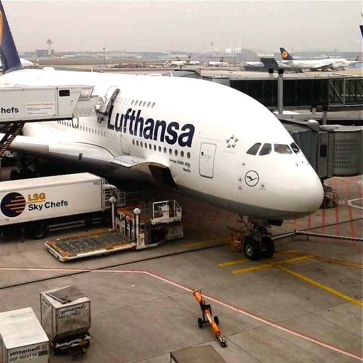 Dans l'avion pour le Costa Rica.