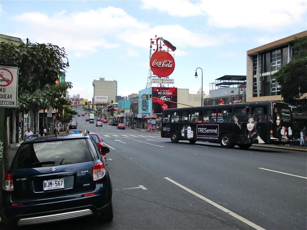 En bus de San José à Tortuguero