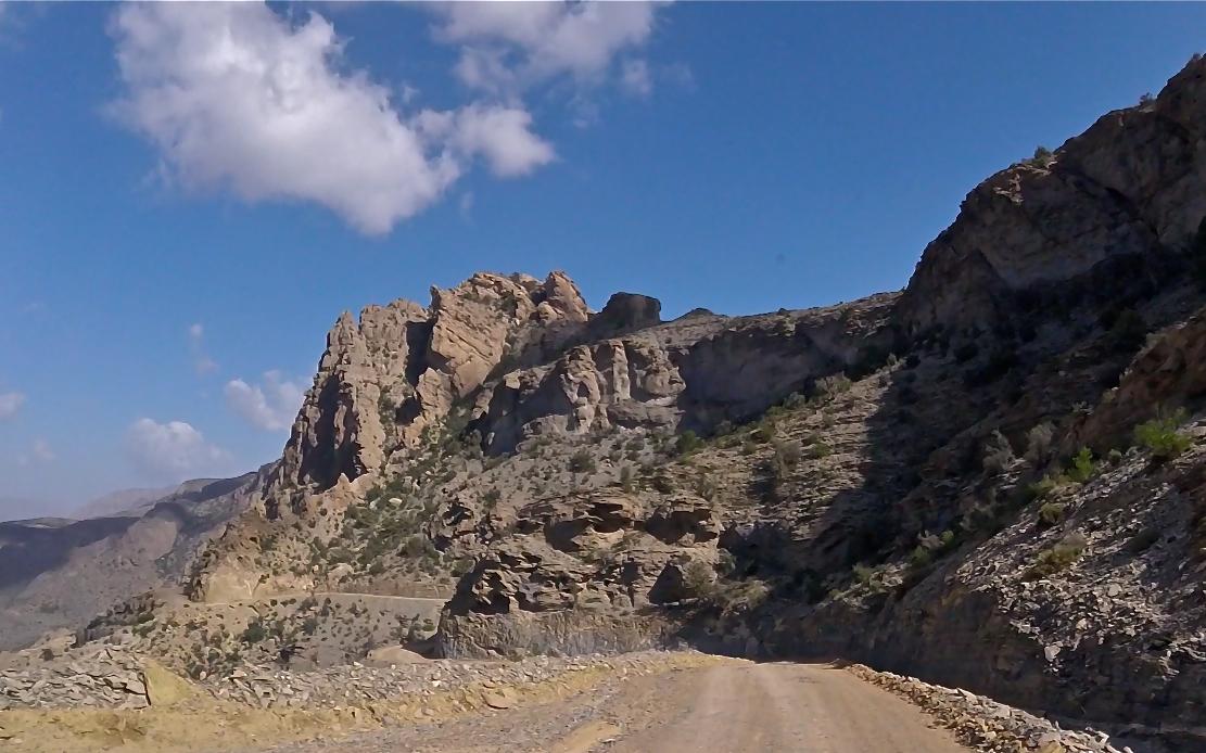 Au sultanat d'Oman, la piste de Hatt vue d'en haut