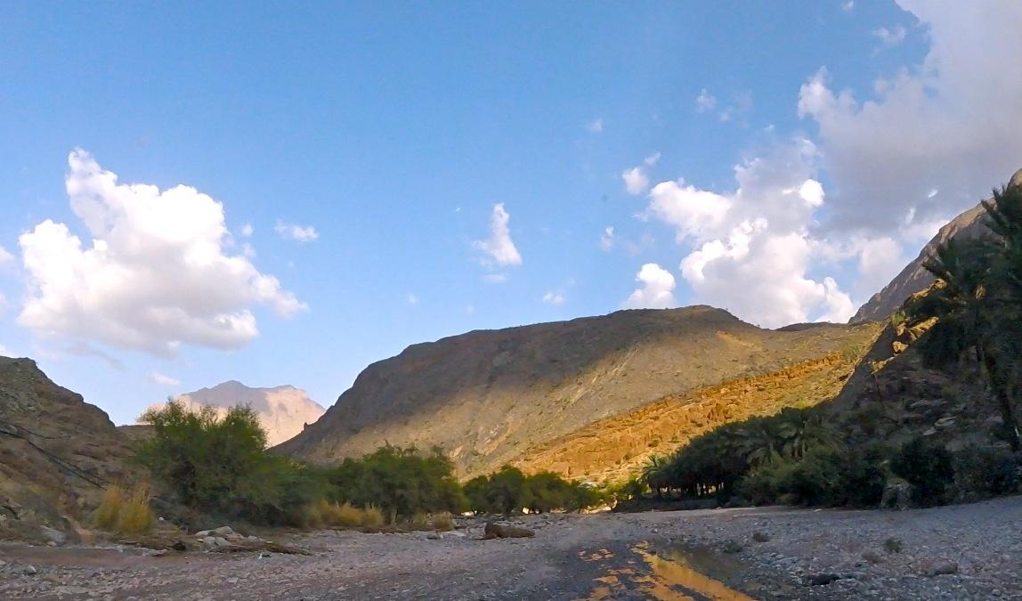 Le wadi Bani Awf au sultanat d'Oman