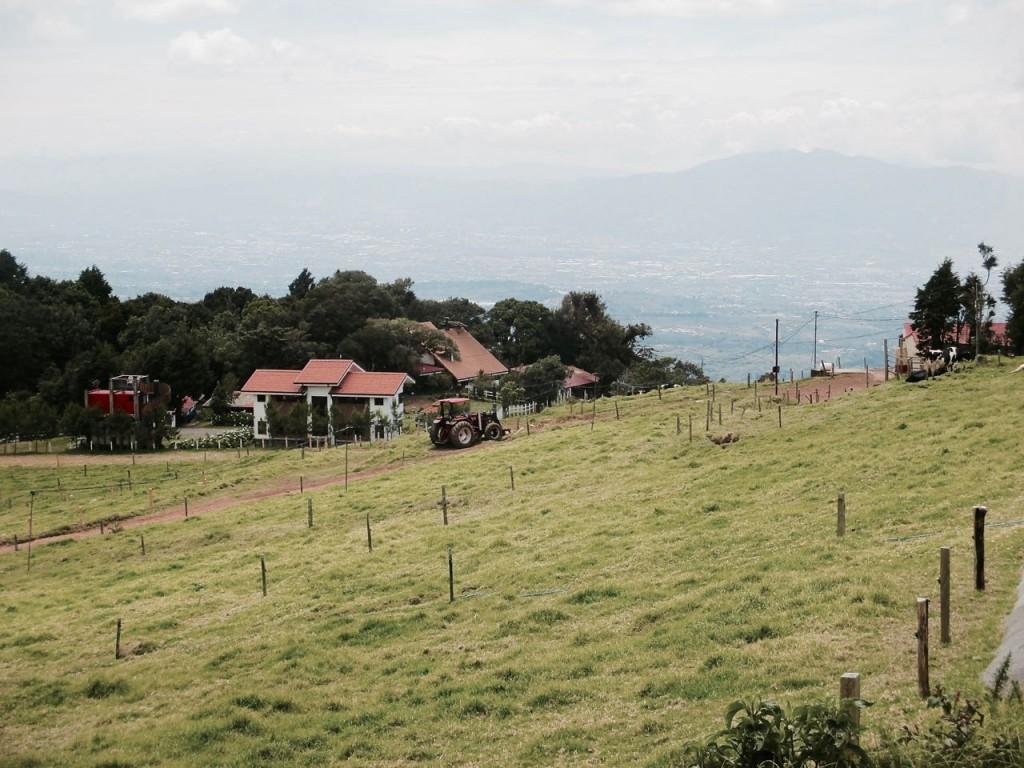 Road trip au Costa Rica : Alajuela et la vallée.