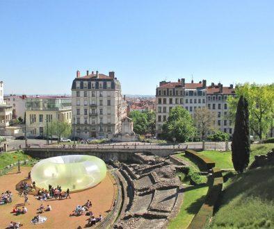 L'amphithéâtre des Trois Gaules à Lyon