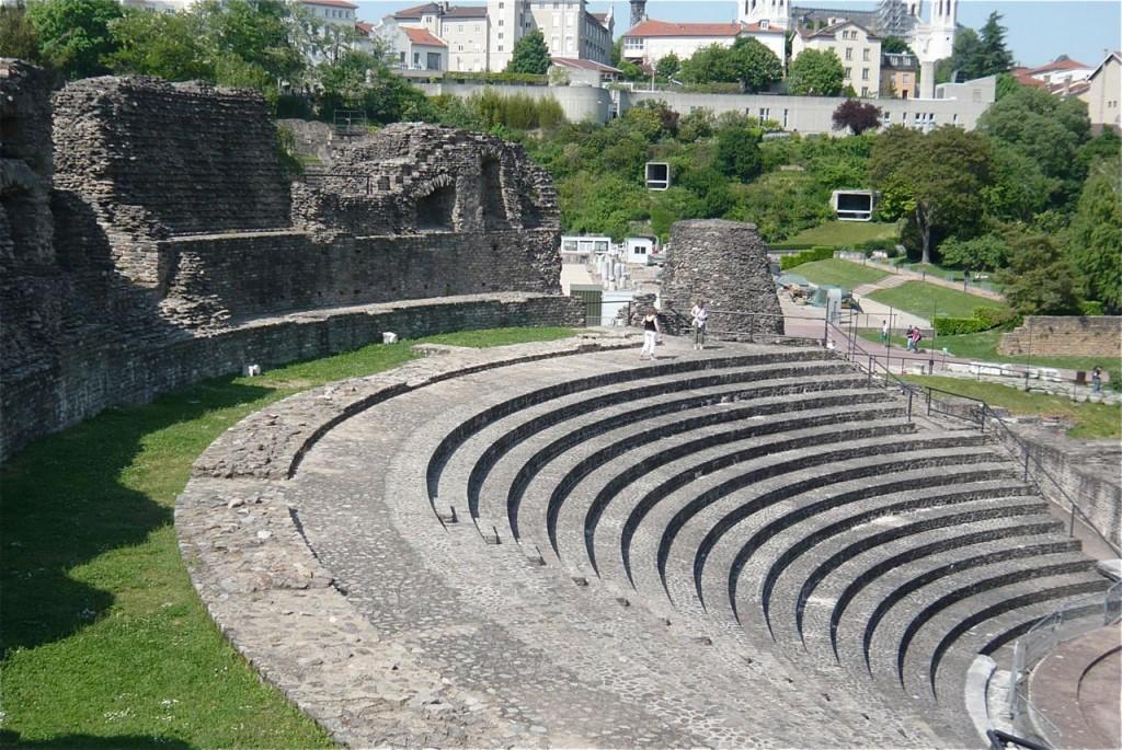 Le théâtre antique de Fourvière à Lyon