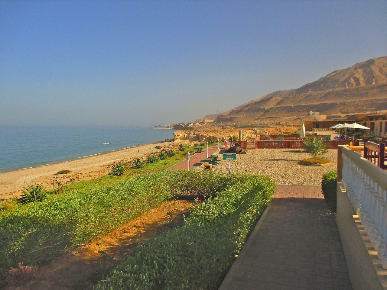 Le Wadi Shab Resort à Oman.