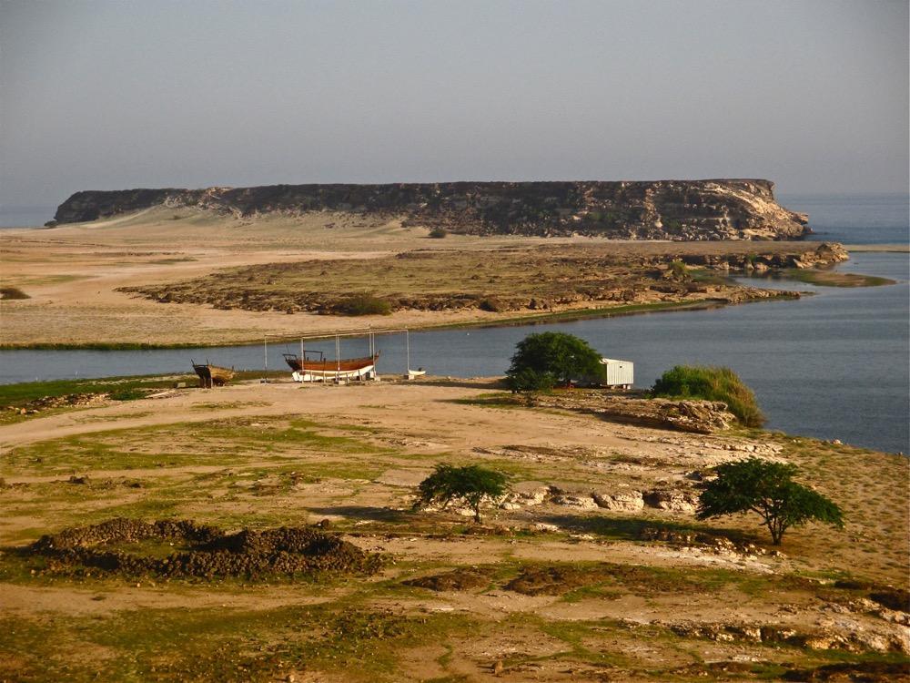 La baie de Khor Rori dans le Dhofar