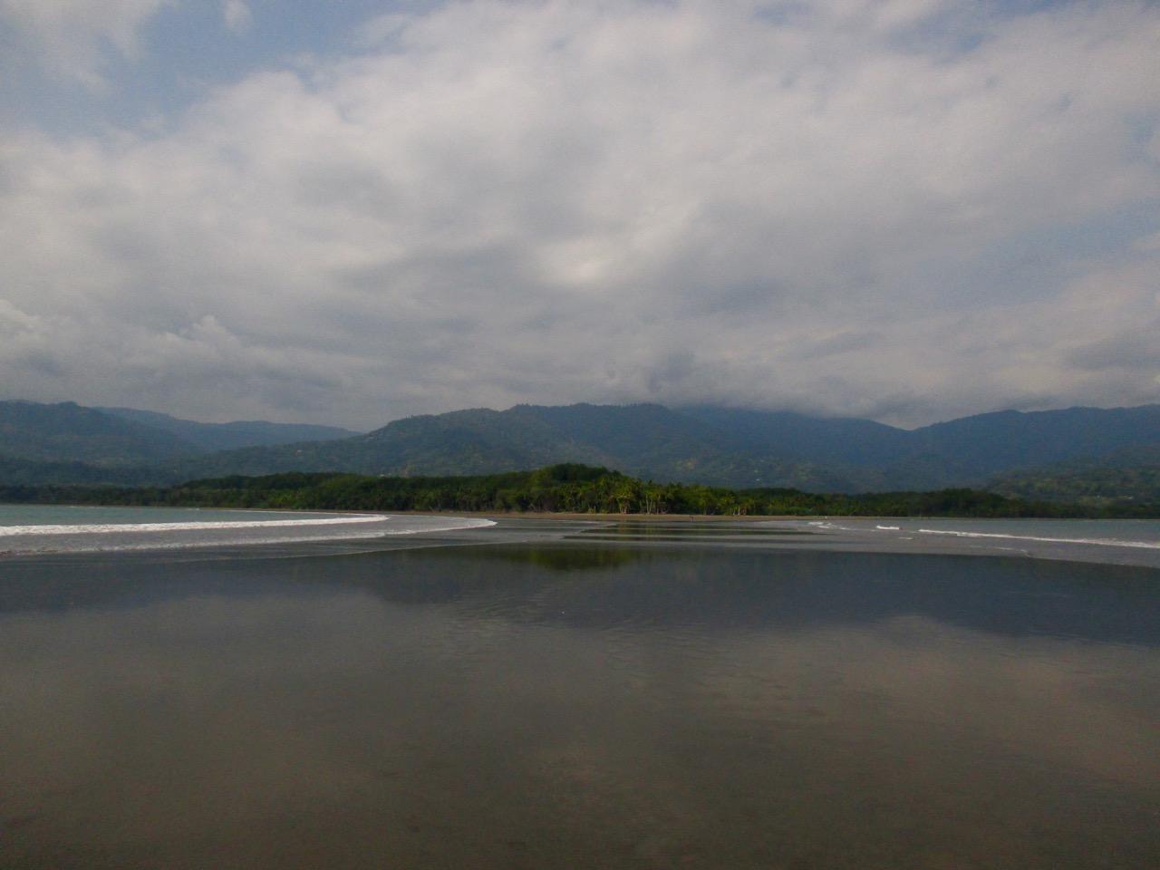 La plage d'Uvita