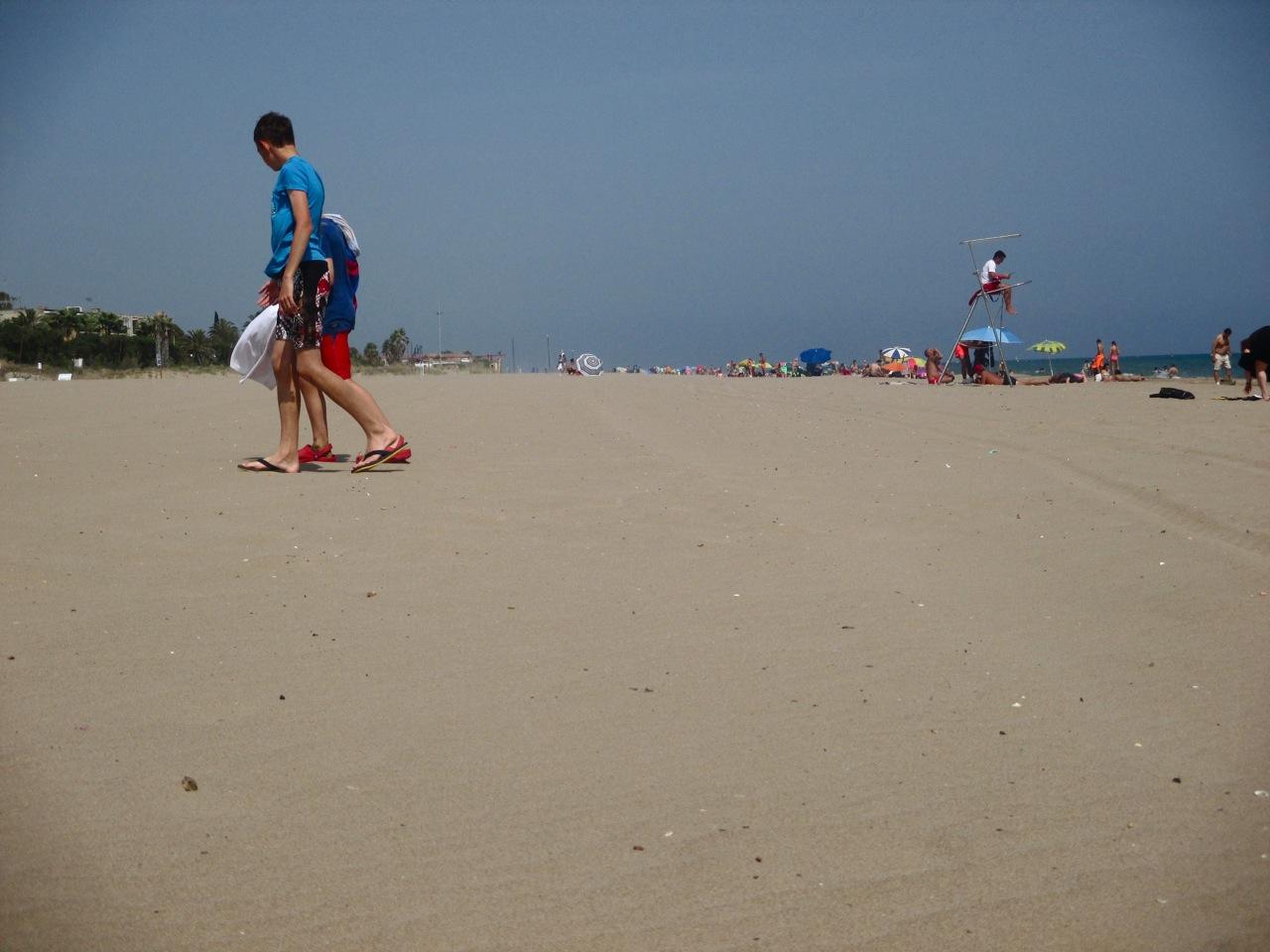 La plage de Gava