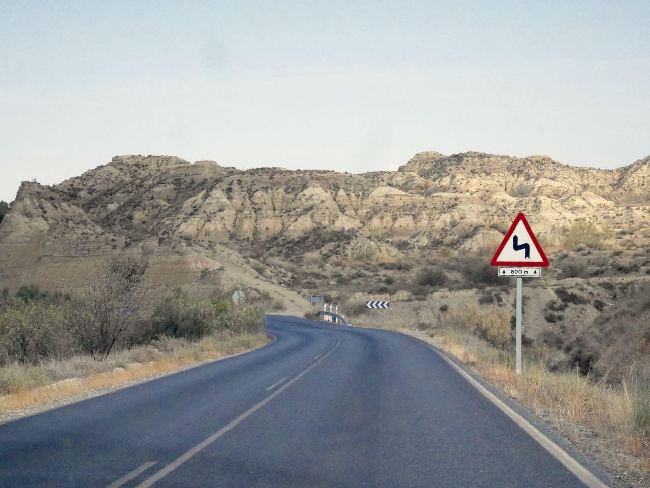 Sur les routes de l'Andalousie
