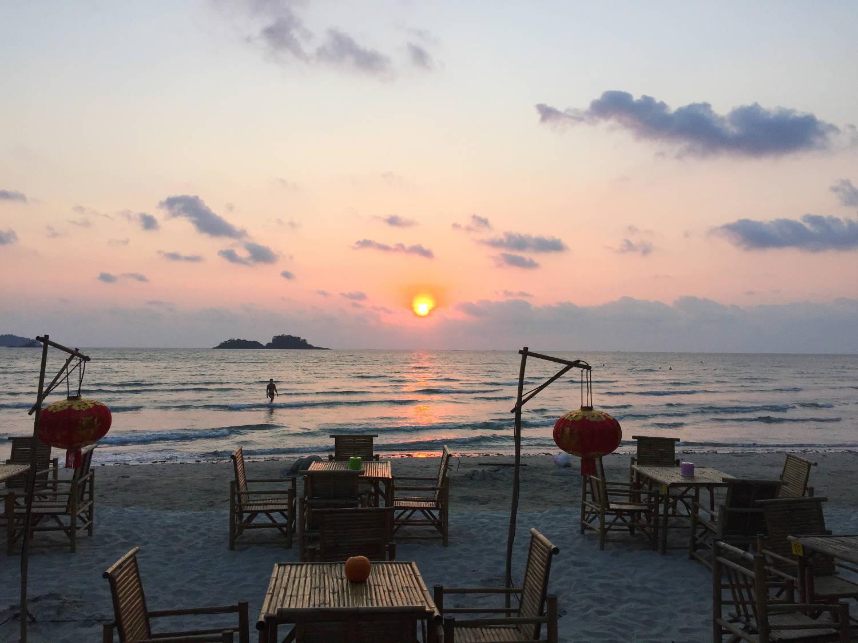 Plage de Klong Khrao Beach à Koh Chang