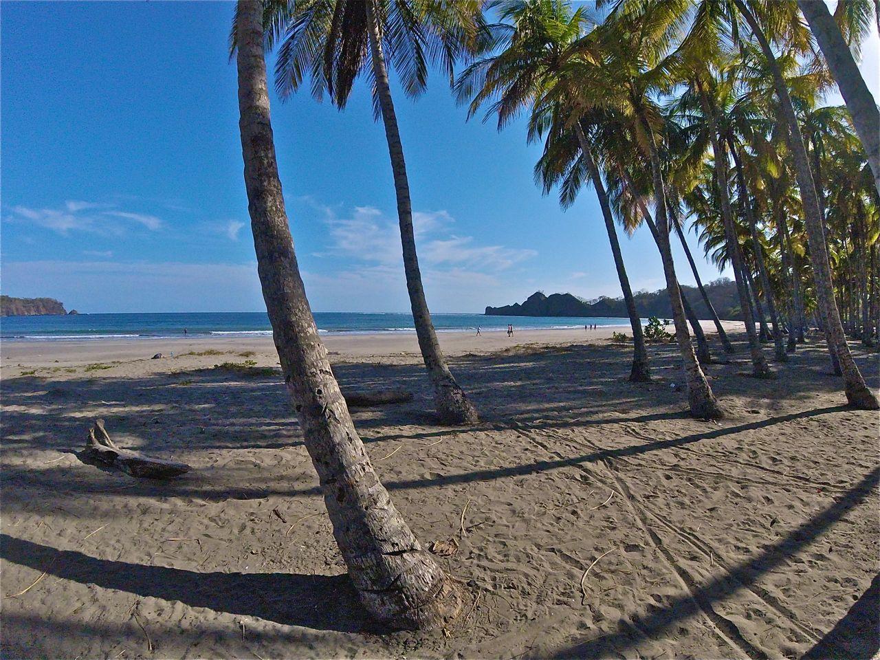 La playa Carillo sur la péninsule de Nicoya
