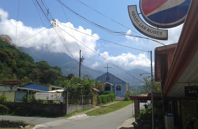 Village de San Gerardo au Costa Rica