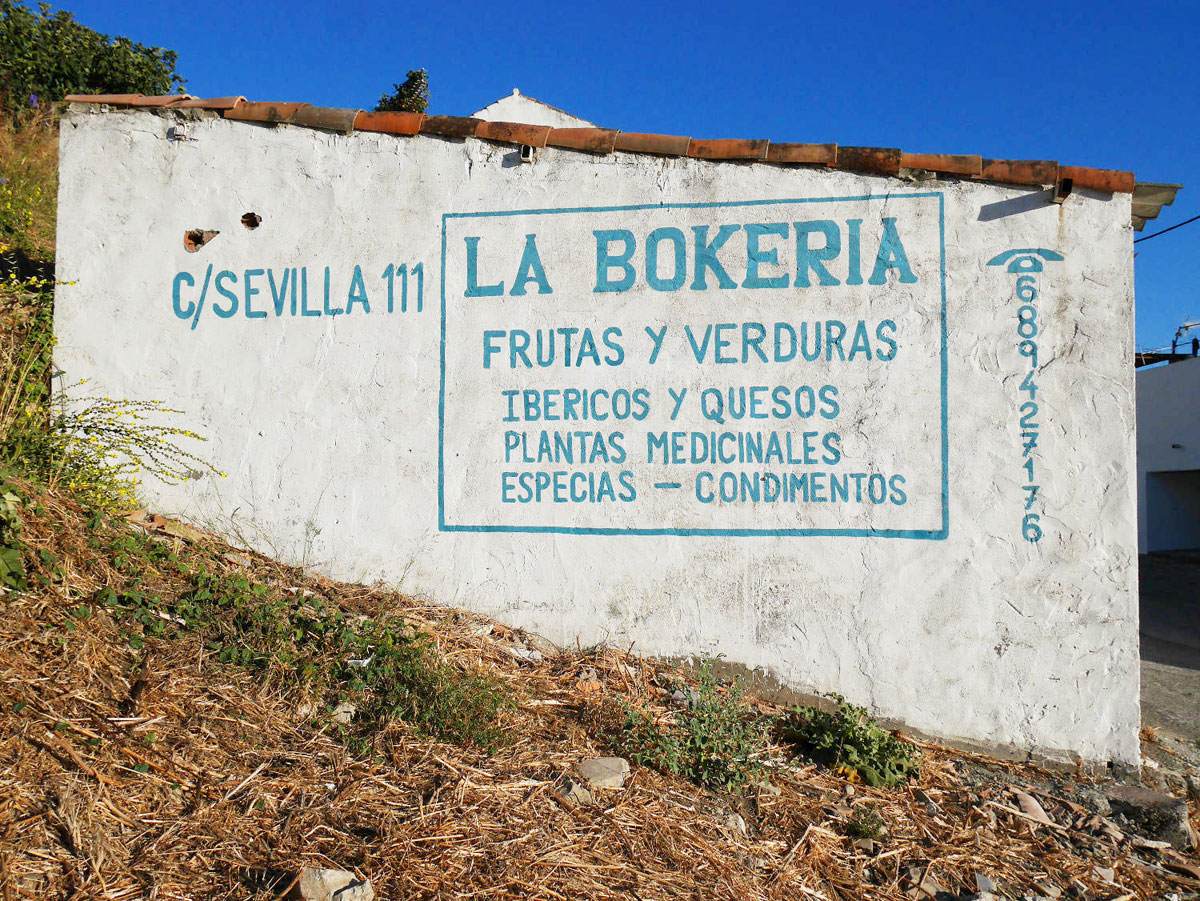 La bokeria à Jimena de la Frontera